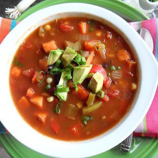 Southwestern Vegetarian Chili