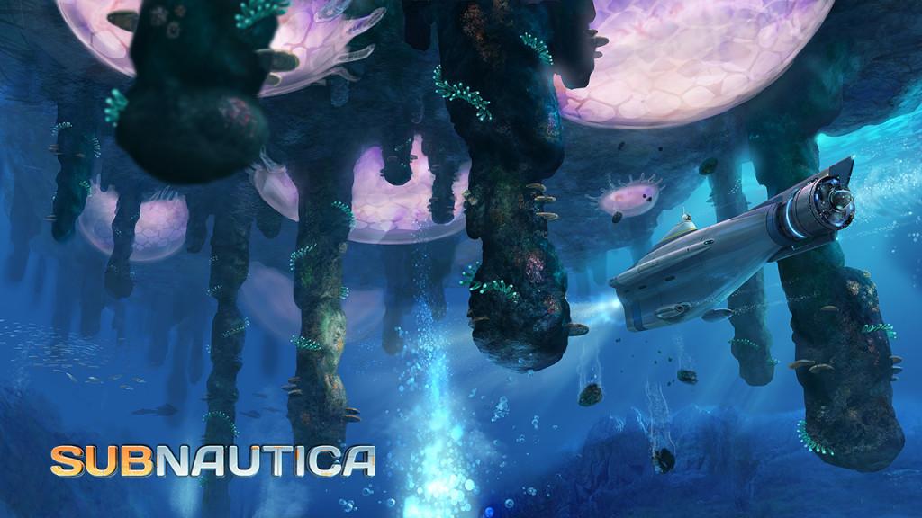Concept art for Subnautica