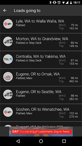 玩免費遊戲APP|下載DAT Trucker - GPS + Truckloads app不用錢|硬是要APP
