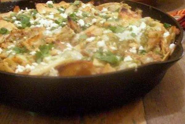 Easy Chicken Chilaquiles Skillet Supper Recipe