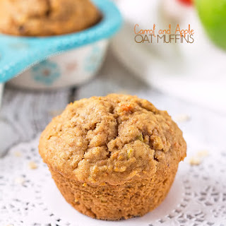 Carrot and Apple Oat Muffins