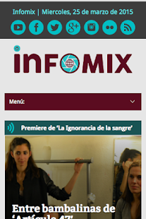 infomix TV- screenshot thumbnail