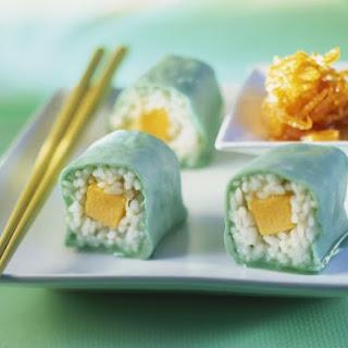 Sushi Dessert Rolls.