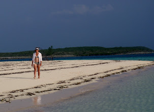 Photo: Anne on Devils Cay #2