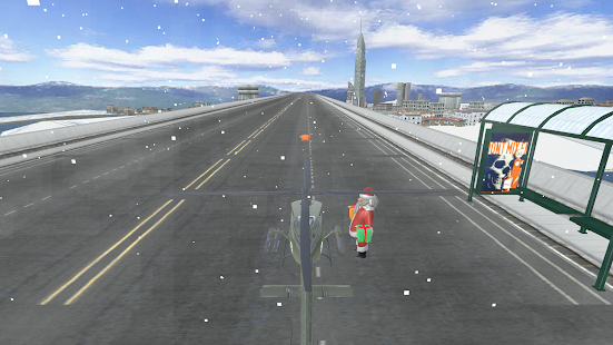 Christmas Games : Santa Helicopter Gifts Delivery - náhled