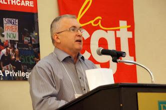 Photo: Mark Dudzic, Co-ordinator, Labor Campaign for Single Payer