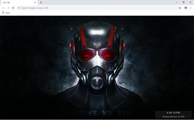 Ant-Man Wallpapers and New Tab