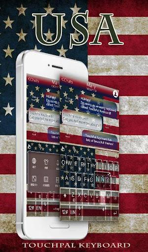 TouchPal America KeyboardTheme