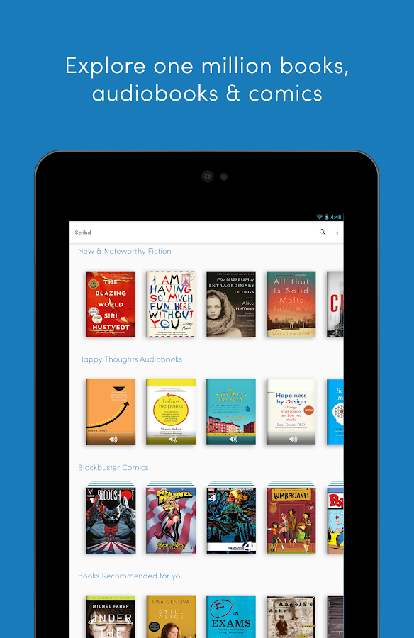 Scribd - Read Unlimited Books- screenshot