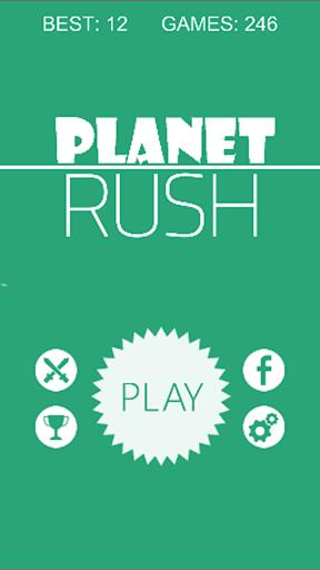 Circle Planet Rush:Tap to Dash