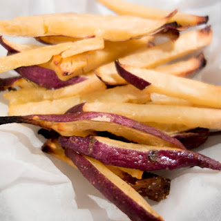 Crispy, Oven-Baked Sweet Potato Fries