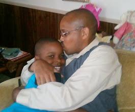 Photo: Kalonji & nephew Cheymon