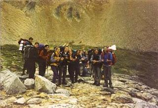 Photo: 2000 - PN Lanín, Campamento anual, Postas