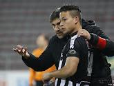 Le coach du Sporting Charleroi Felice Mazzù réagit au départ de Cristian Benavente