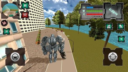 Flying Dragon Robot Simulator :Transformation War 4