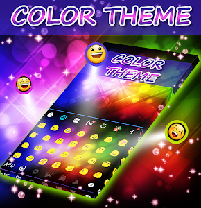Color Themes Keyboard screenshot 1