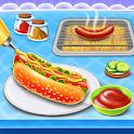 Hot Dog Maker Street Food Games icon