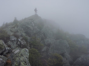 Photo: And was pretty exciting hiking. Photo by Tommy Bell