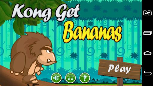 Kong Get Bananas