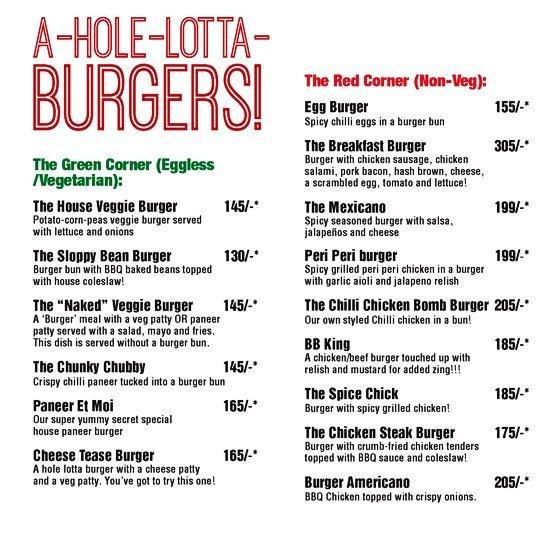 A Hole Lotta Love Cafe menu 5