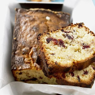 Dried Fruit Cake Loaf.