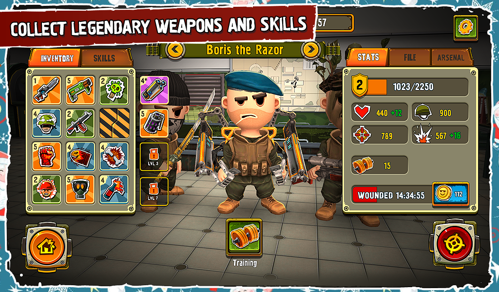 Pocket Troops- screenshot