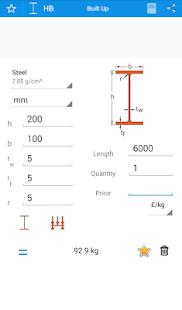 steelyard Kovová kalkulačka - náhled