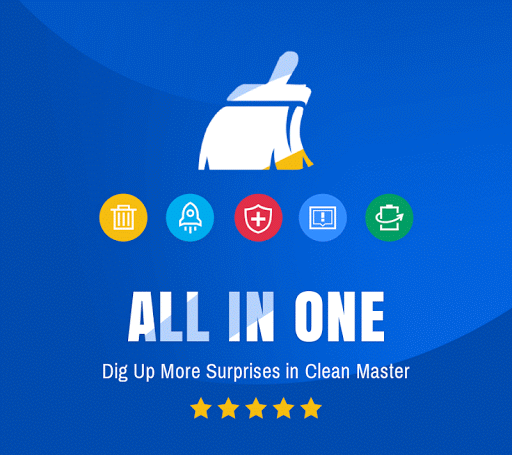 Clean Master (Boost & AppLock) v5.17.1 build 51716482