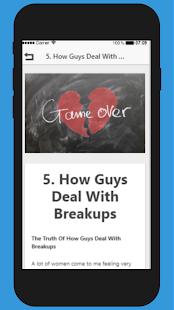 how guys deal with breakups