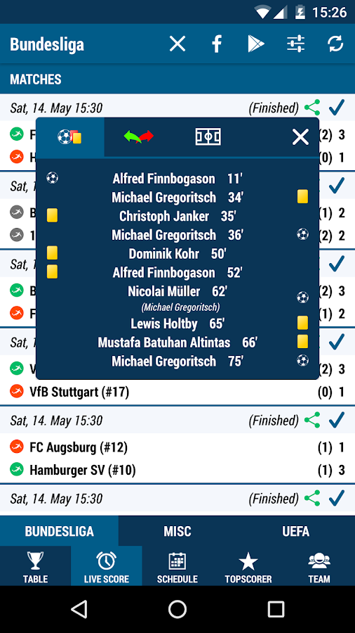Bundesliga- screenshot