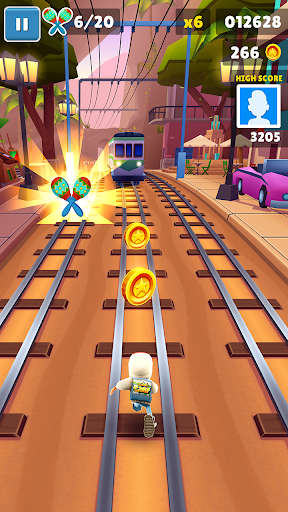 Subway Surfers  gameplay | by HackJr.Pw 10