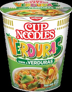 Sopa Nissin Cup Noddles