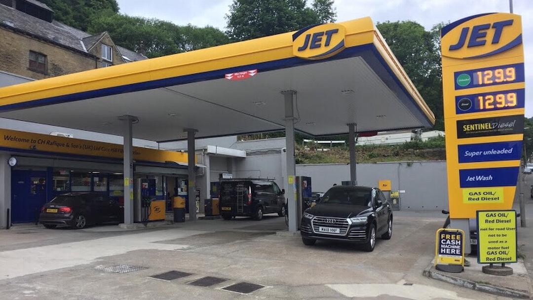 Cote Hill Filling Station Gas Station