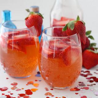 Valentine's Day Gin Fizz