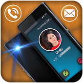 Flashlight Blink on Call Sms