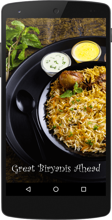 Ammi's Biryani- screenshot