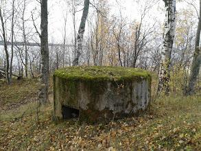 Photo: Форт Серая Лошадь. Наблюдательный пункт снаружи