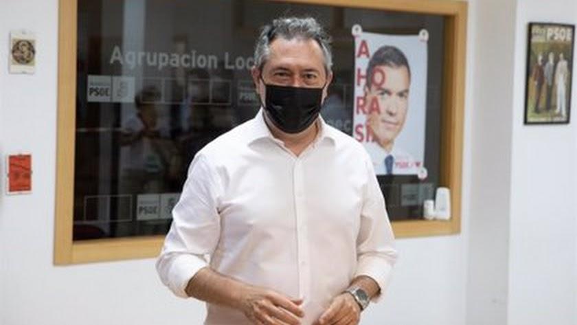 Juan Espadas, ganador de las primarias.