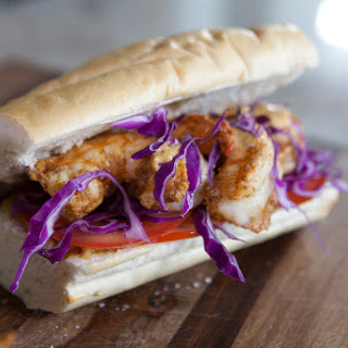Shrimp Po' Boy Sandwich [Video]