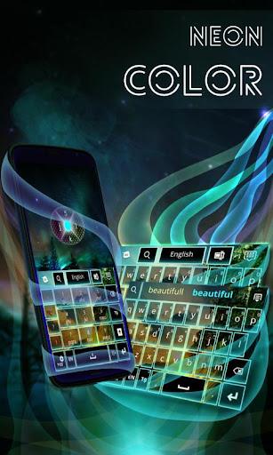 無料个人化Appのネオンカラーのキーボード|記事Game