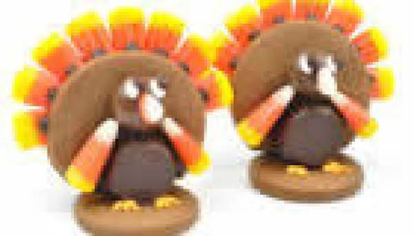 Gobble Gobble Turkey Cookies Recipe