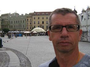 Photo: alter Mann in Krakau's Altstadt