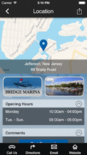 Lake Hopatcong Boater's App.- screenshot thumbnail