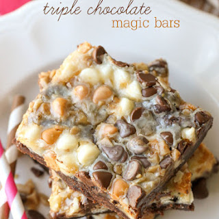 Triple Chocolate Magic Bars