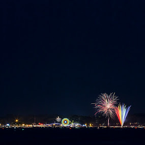 4th of July by Rachaelle Larsen - Public Holidays July 4th ( arnold's park, amusement park, okoboji, 4th of july, boat, queen 2 )