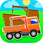 Truck Puzzles for Toddlers