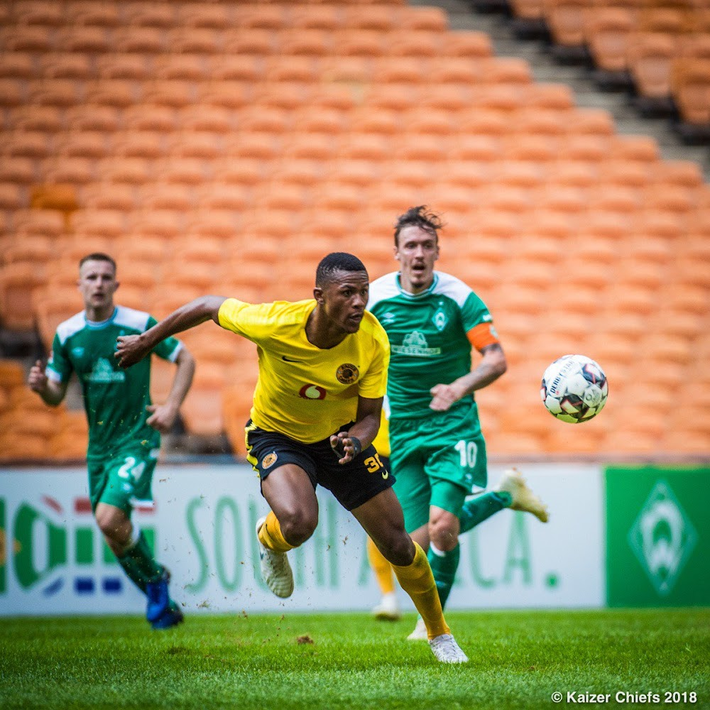 'We expected Kaizer Chiefs to be robust and quick'' says Werder Bremen's Johannes Eggestein