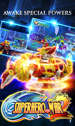 Superhero War: Robot Fight - City Action RPG screenshots 12