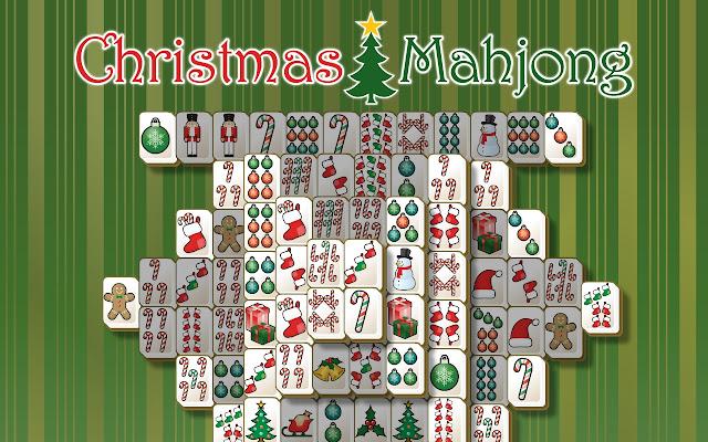 mahjong christmas connect free game