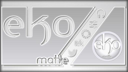 eKo Matte Icon Theme